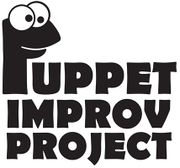 Puppet Improv Project's logo.