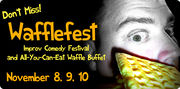 A promotional image for WaffleFest 2012.